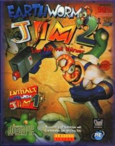 Постер Earthworm Jim 2 для DOS