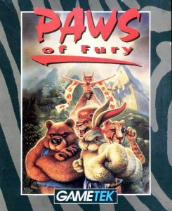 Постер Brutal: Paws of Fury