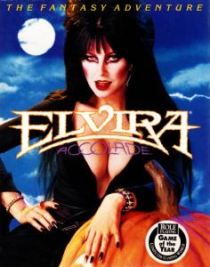 Elvira: Mistress of the Dark (Adventure, 1990 год)