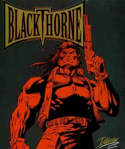 Постер Blackthorne для DOS