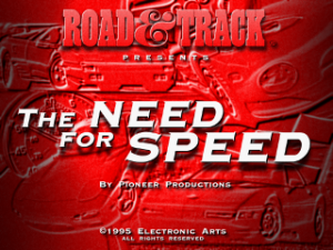 Need for Speed, The