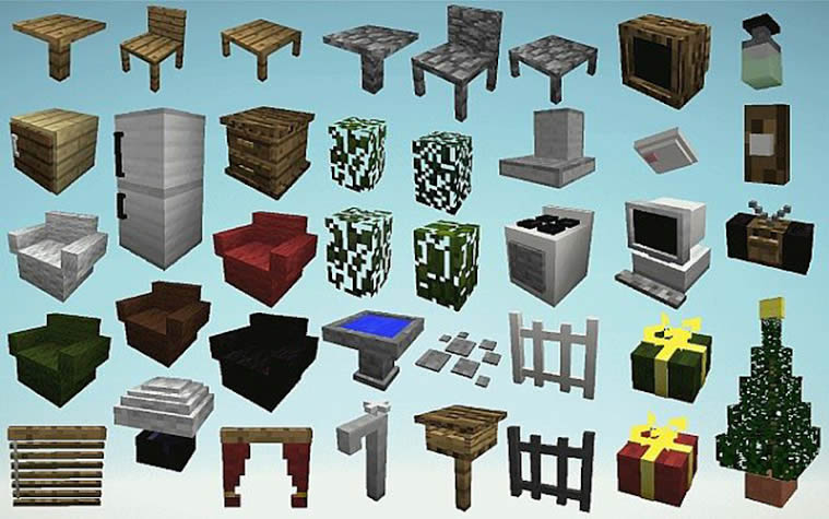Minecraft Furniture Mod