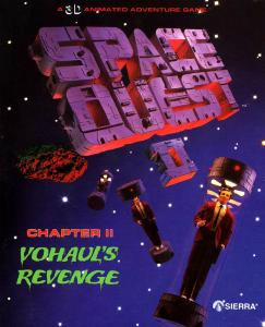 Постер Space Quest 2: Vohaul's Revenge - русская версия