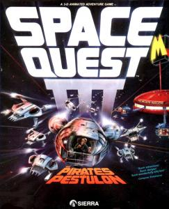 Постер Space Quest 3: The Pirates of Pestulon - русская версия