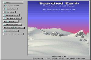 Scorched Earth: The Mother of All Games
