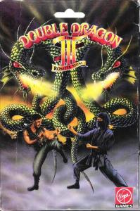 Постер Double Dragon 3: The Rosetta Stone