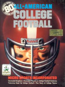 All-American College Football (Simulation, 1991 год)