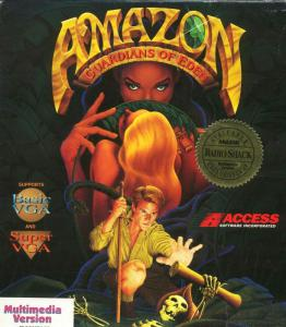 Amazon: Guardians of Eden (Adventure, 1992 год)