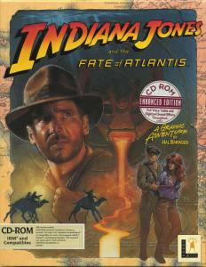 Постер Indiana Jones and the Fate of Atlantis