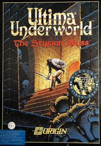 Постер Ultima Underworld: The Stygian Abyss