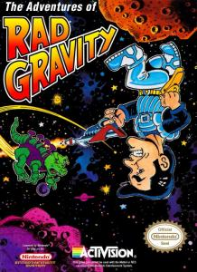 The Adventures of Rad Gravity (Arcade, 1989 год)