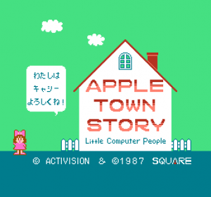 Apple Town Monogatari: Little Computer People