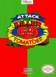 Attack of the Killer Tomatoes (Arcade, 1991 год)