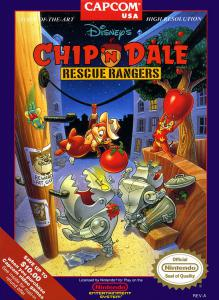 Chip 'N Dale: Rescue Rangers (Arcade, 1990 год)