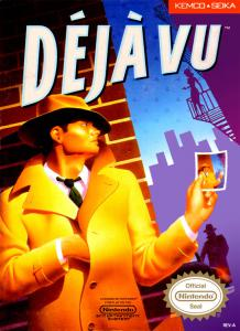 Déjà Vu: A Nightmare Comes True!! (Adventure, 1990 год)