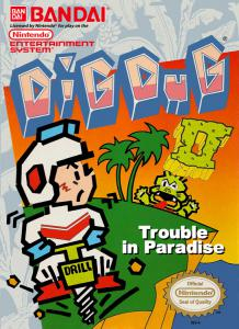 Dig Dug II: Trouble in Paradise (Arcade, 1989 год)
