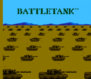Garry Kitchen's Battletank