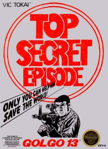 Golgo 13: Top Secret Episode (Arcade, 1988 год)