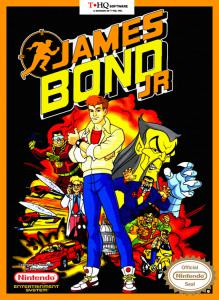 Постер James Bond Jr.