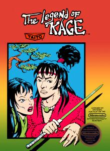 The Legend of Kage (Arcade, 1987 год)