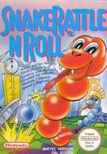 Snake Rattle N Roll (Arcade, 1990 год)