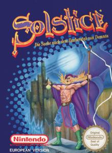Solstice: The Quest for the Staff of Demnos (Arcade, 1990 год)
