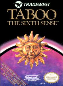 Taboo: The Sixth Sense (Simulation, 1989 год)