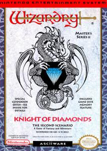 Wizardry: Knight of Diamonds - The Second Scenario (Role-Playing, 1990 год)