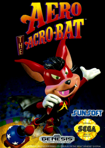 Aero the Acro-Bat (Arcade, 1993 год)