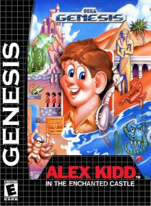 Постер Alex Kidd in the Enchanted Castle