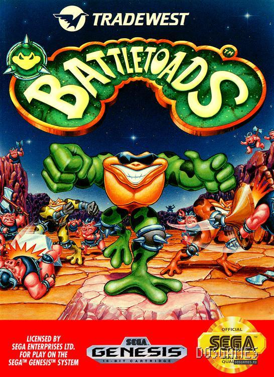 Battletoads скачать на сега