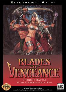 Постер Blades of Vengeance