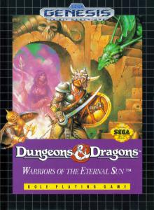 Dungeons & Dragons: Warriors of the Eternal Sun (Role-Playing, 1992 год)