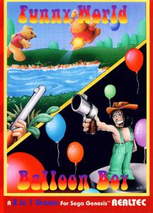 Funny World & Balloon Boy (Arcade, 1993 год)