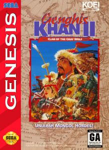 Genghis Khan II: Clan of the Gray Wolf (Strategy, 1994 год)