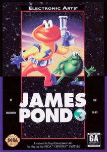 Постер James Pond 3: Operation Starfish