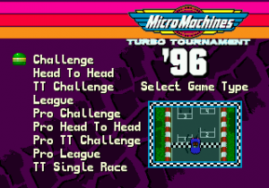 Micro Machines: Turbo Tournament 96