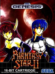 Постер Phantasy Star II