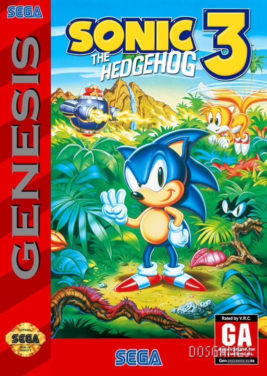 Скачать Sonic The Hedgehog 3 на Sega Mega Drive / Genesis ...   750x533
