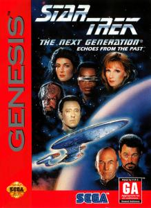 Постер Star Trek: The Next Generation - Echoes from the Past