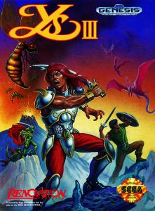 Ys III: Wanderers from Ys (Arcade, 1991 год)