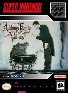 Addams Family Values (Arcade, 1995 год)