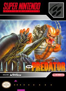 Постер Alien Vs. Predator для SNES