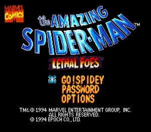 The Amazing Spider-Man: Lethal Foes