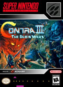 Contra III: The Alien Wars (Arcade, 1992 год)