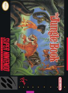 Постер Walt Disney's The Jungle Book для SNES