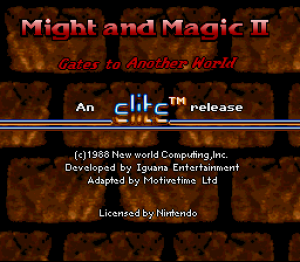 Might and Magic II: Gates to Another World
