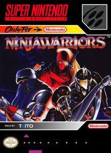 The Ninja Warriors (Arcade, 1994 год)