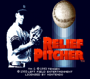 Relief Pitcher