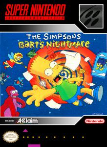 The Simpsons: Bart's Nightmare (Simulation, 1993 год)